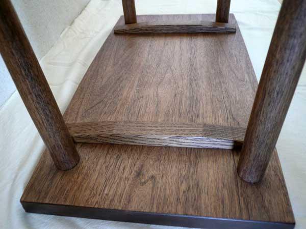 四角いちゃぶ台真上