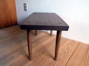 オニグルミの Low Table正面2