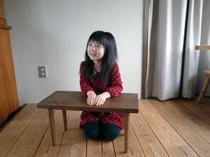 オニグルミの Low Table