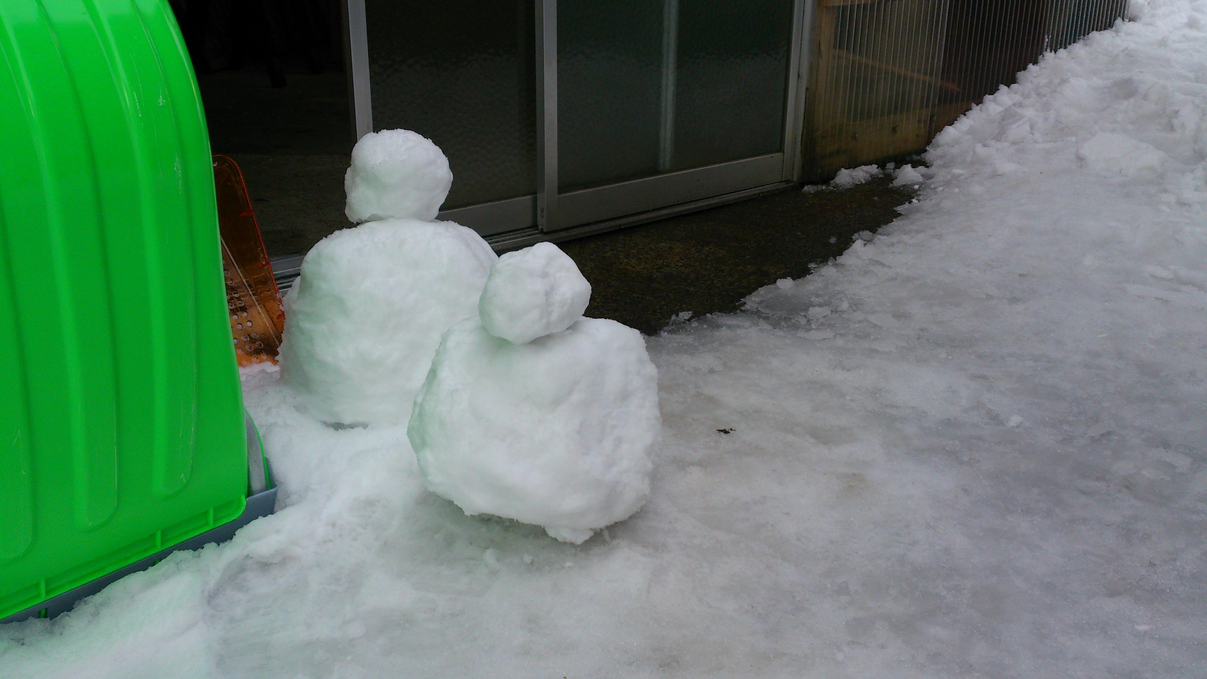 dairoku 雪だるま