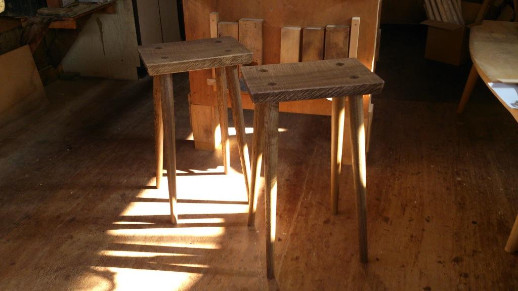 dairoku 2015 8 kakihai stool